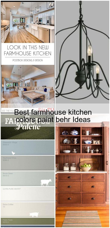 Best farmhouse kitchen colors paint behr ideasbehr