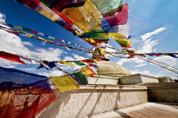 The largest Stupa in Nepal | Boudhanath, Kathmandu Nepal by Dan Glindemann