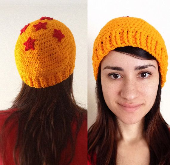 Dragon Ball Z Beanie hat handmade by ChrisetteDesigns. Use the coupon code…