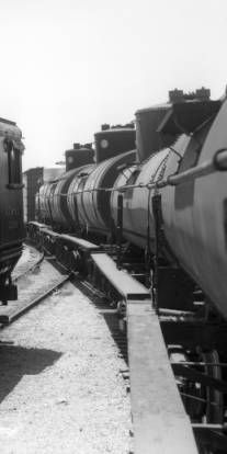AT&SF locomotive (with tender), engine number 2299, engine type 0-6-0 :: Photographs - Western History