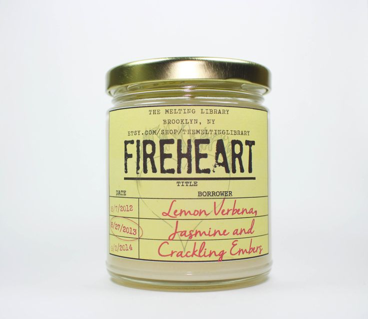 Fireheart - By the Wyrd Collection - Throne of Glass Inspired Candles by TheMeltingLibrary on Etsy https://www.etsy.com/listing/248432065/fireheart-by-the-wyrd-collection-throne