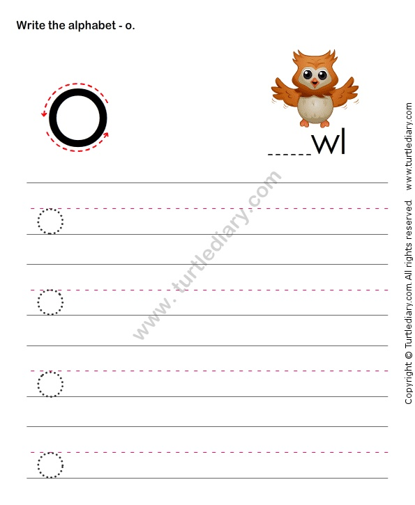 how to write lowercase letters