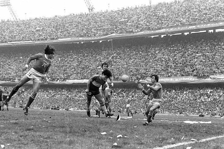 Qué impresionante foto, Boca vs Ferro  en la bombonera,1981.