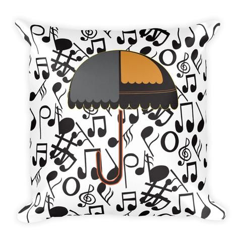 It's Raining Music - Earthistik Pillow
