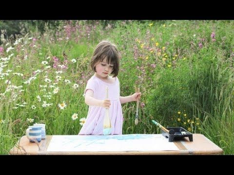 This precious 3 year old little girl is autistic and cannot speak, but what she can express in her paintings will astound you! (Which sell for hundreds of dollars!)