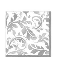 Silver 25th Wedding Anniversary Party Supplies - 25th Anniversary Ideas - Party City
