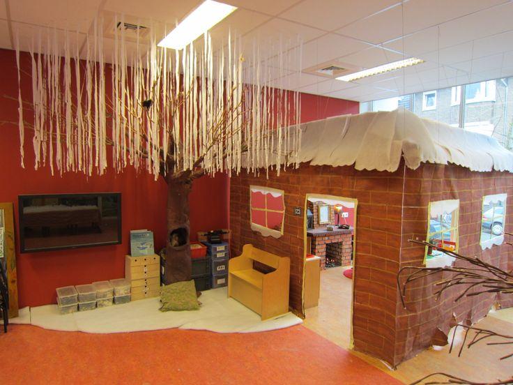 Themahoek Ons speelhuis in de winter Nutsschool Maastricht