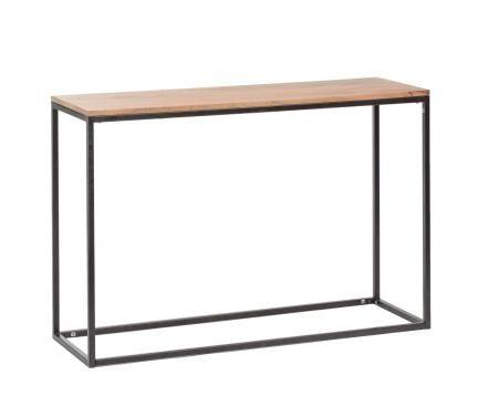 120 cm x 80 cm x 40 cm Mango wood colnsole http://unodesign.pl/item/675/299/Katalog-produktow/Meble/Kolekcje/SoHo/Konsola.html