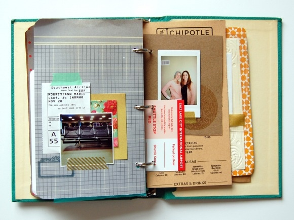 Lovely book binder by Ann-Marie >> could use my repurposed book binder tutorial and make your own! http://ahhh-design.com/repurposed-book-binder/