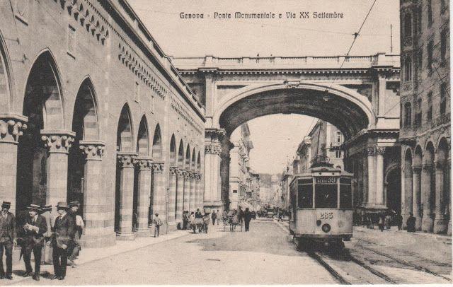 C'ERA UNA VOLTA GENOVA : early 1900 - Via XX Settembre e ...