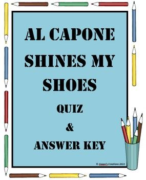 Al Capone Does My Shirts Essay Topics & Writing Assignments