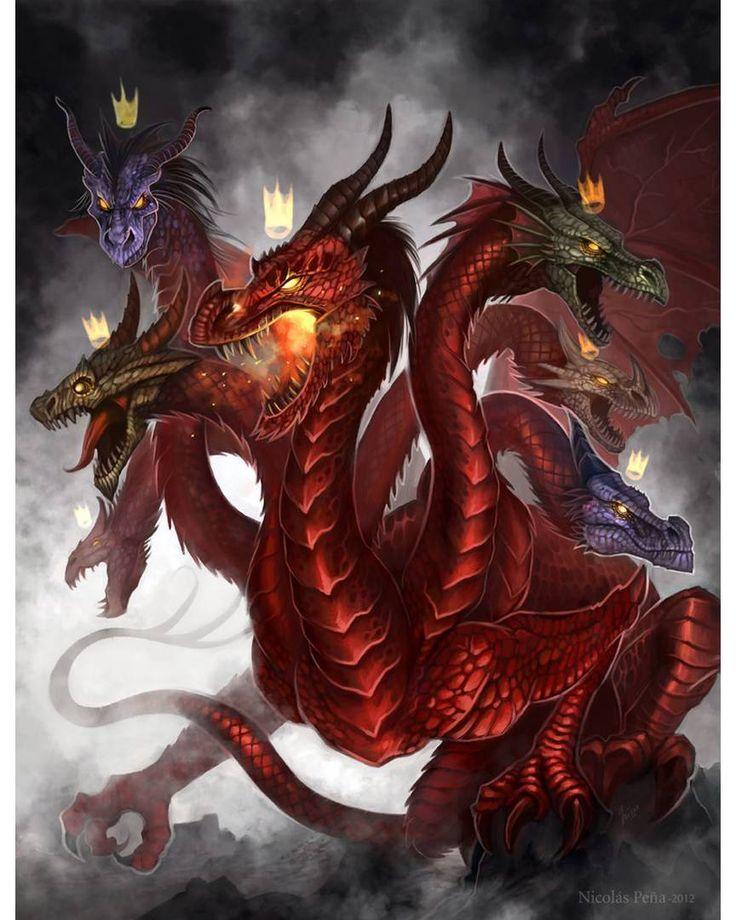 Змей горыныч арты