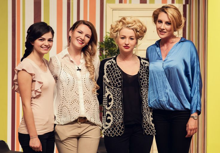 Hair by Mihaela Vodnar Trainer Alfaparf Romania Model:Arabela Sim, Tabita Cristea, Fotograf:Luciana Varga