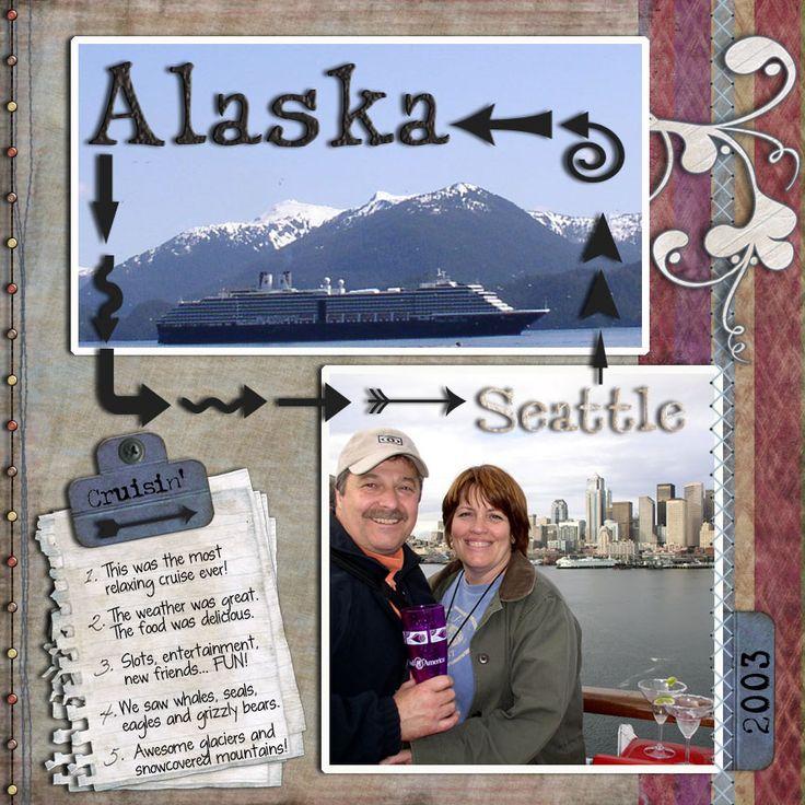 Alaska Cruise - Scrapbook.com