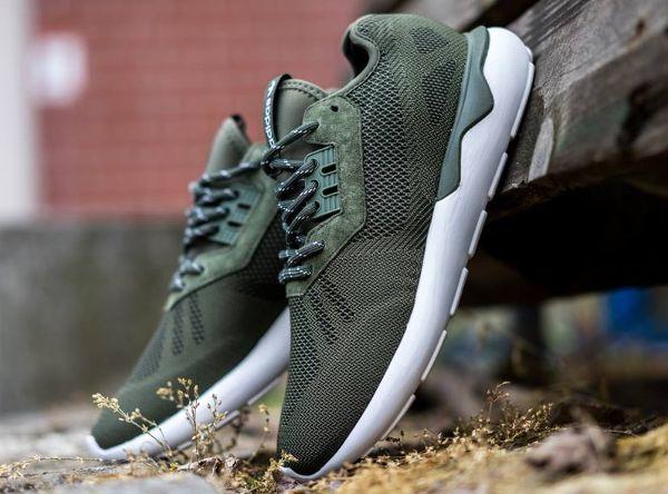Adidas Tubular Woven Green