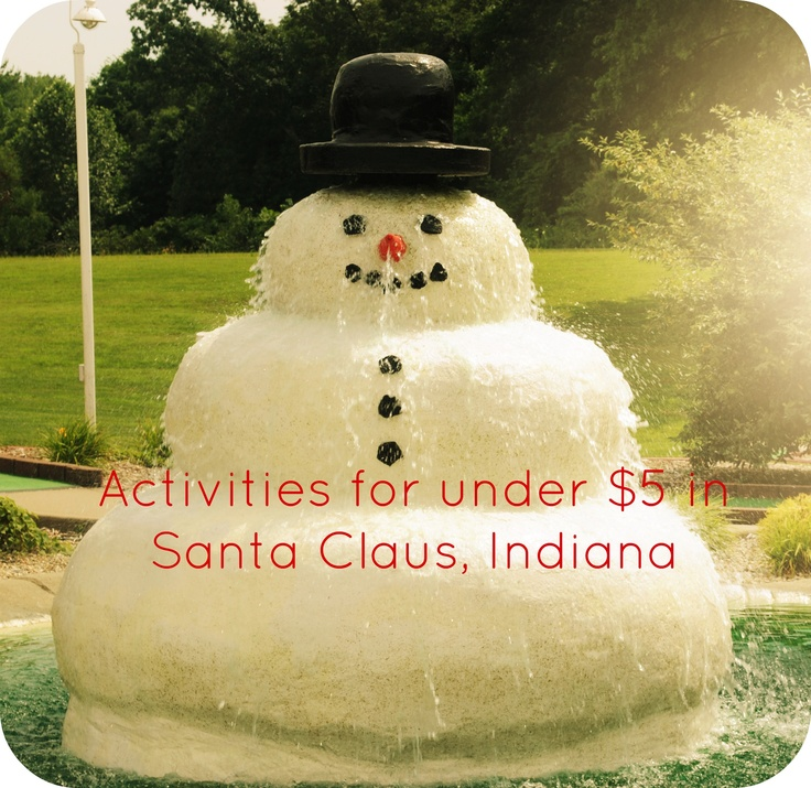 Activities under 5 in santa claus indiana mini for Ideas for mini vacations