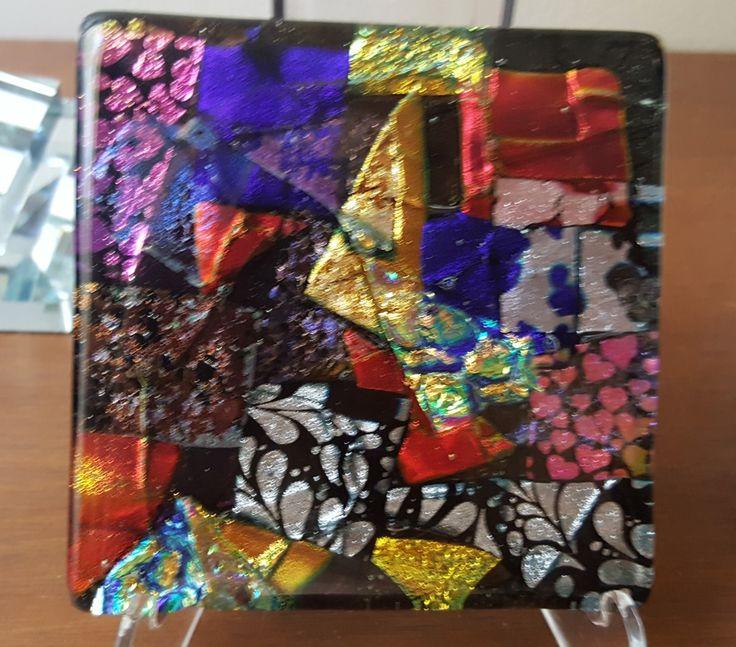 Fused glass by Karen Campbell, Northwood Fl