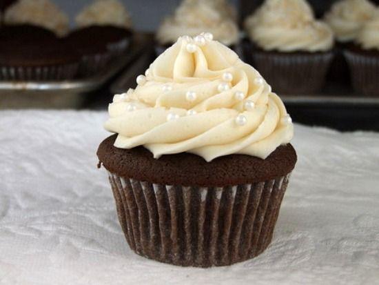 .: Cupcakes Decor, Cupcakes Frostings, Wedding Cupcakes, Cupcakes With Pearls, Chocolates Cupcakes, Wedding Cakes, Cupcakes Recipes, Recipes Cupcakes, Cupcakes Rosa-Choqu