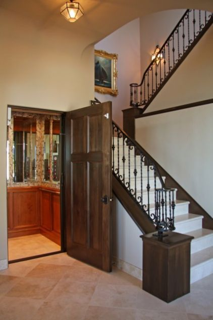 12 best home elevators images on pinterest elevator for Custom home construction cost