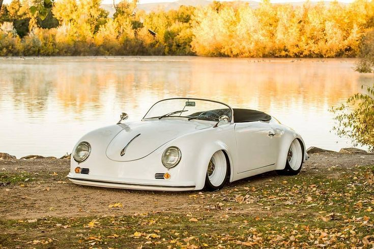 """8,361 Likes, 90 Comments - Cᴜʟᴛ 911 (@porscheartdaily) on Instagram: """"@1966vwbug's modified and slammed to the ground 356 