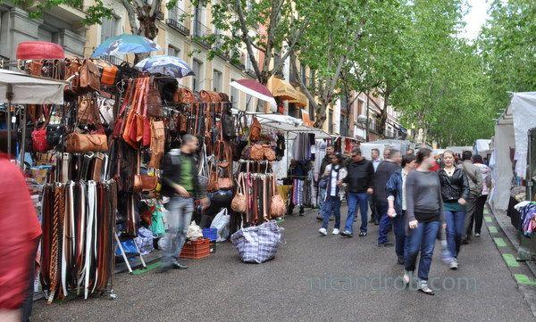 Rastro Flea Market, Madrid