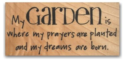 My garden is a place of worship ~ God has taught me more as I garden than I ever dreamed was possible!