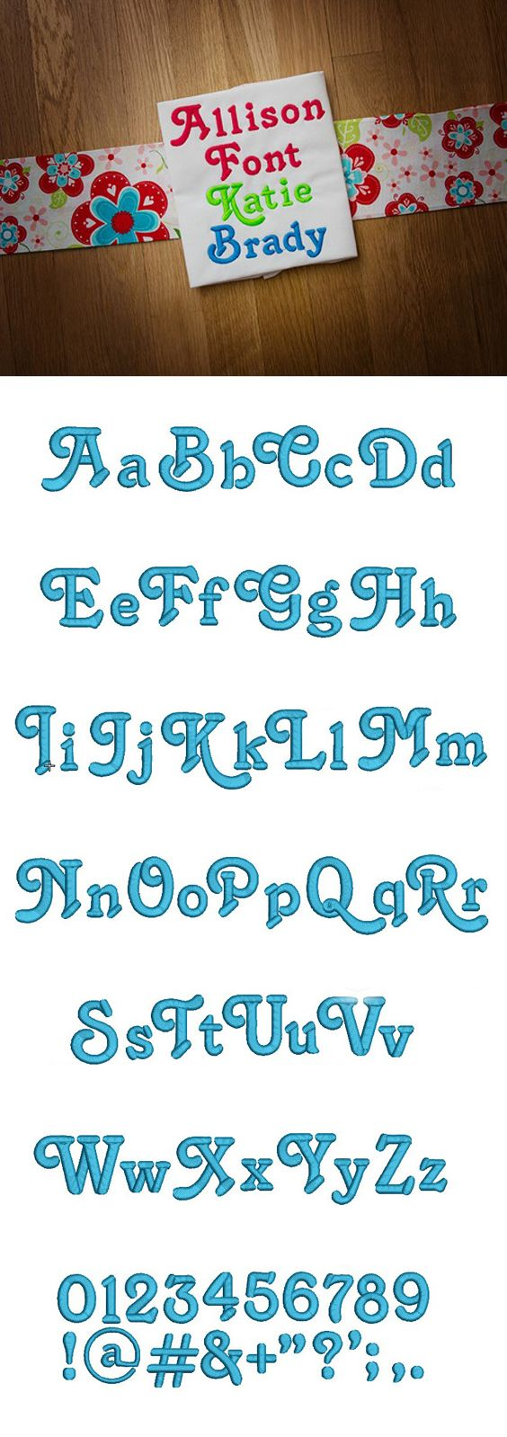 A super cute, thick and chunky font! #DesignsbyJuJu