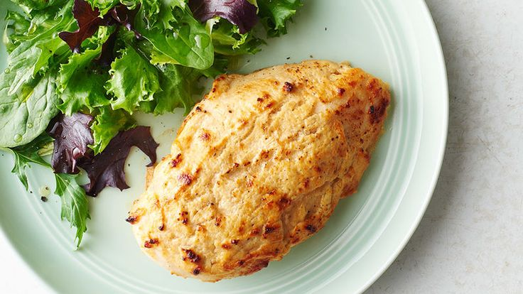 If there's an easier way to turn boneless, skinless chicken breasts into a killer, creamy cheese-topped dinner, we don't know what it is. And did we mention it only takes five ingredients?