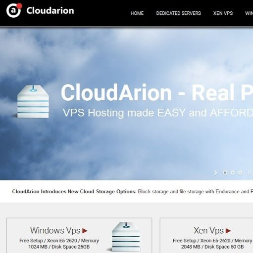 CloudArion - Best Cheap SSD VPS Hosting provider offers Xen/KVM Vps platforms, Windows and Linux operating systems from $10 with instant activation. http://cloudarion.com/