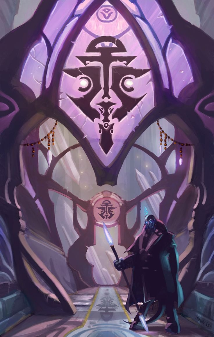 Draenei architecture - World of Warcraft. Art Nouveau! <3