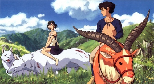 """""""Principessa Mononoke"""". Proiezione all'Hangar Bicocca - In un remoto villaggio tra le montagne, Ashitaka, l'ultimo guerriero del quasi estinto clan degli Emishi, � co..."""
