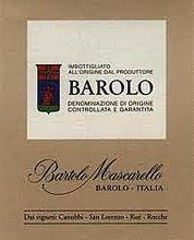 Barolo - Bartolo Mascarello