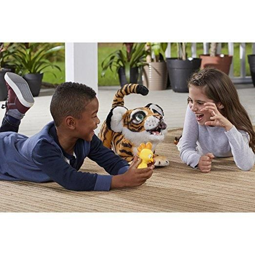 The Most Popular Kids toy for 2018 World Wide FurReal Roarin' Tyler, the Playful Tiger