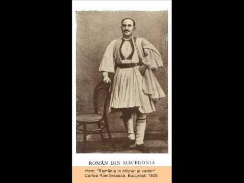 Vlach Song from Macedonia-Atanase Iorghitsa