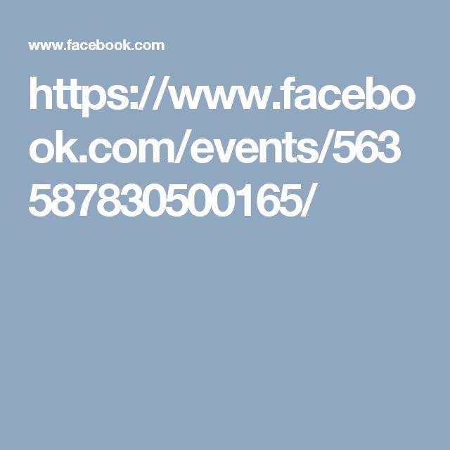 https://www.facebook.com/events/563587830500165/