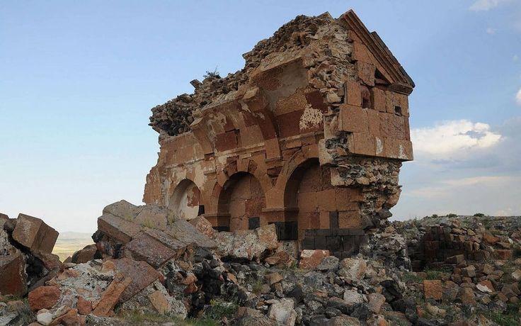 ruined Churches Armenian city of ANI