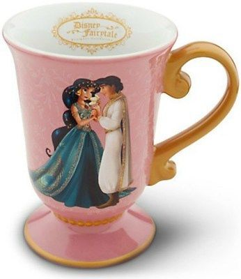 Little Mermaid 44036: Disney Aladdin And Jasmine Couples Designer Fairytale Collection Mug Cup - New -> BUY IT NOW ONLY: $49.99 on eBay!