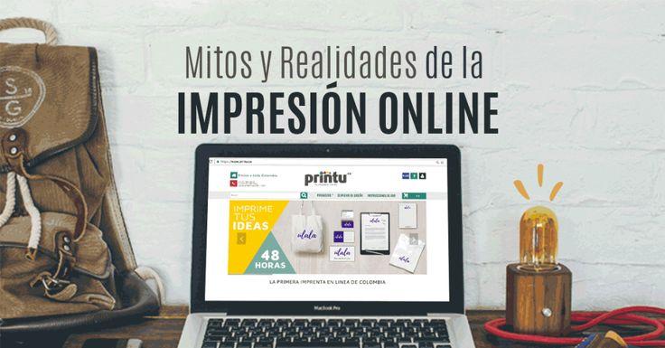 ¿Miedo al comercio electrónico? Les contamos algunos mitos y realidades de la impresión online. #ImpresiónOnline #ComercioElectrónico #e-commerce