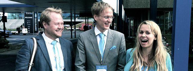Jaakko, Janne and Annukka in HR Tech Europe 2012. #hrtecheurope