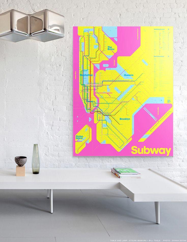 Wrong Color Subway Map I want