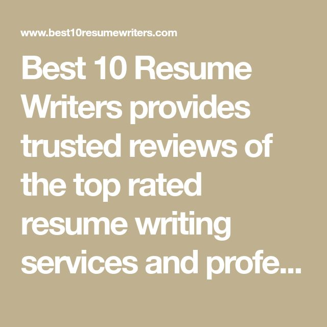 Best resume writing services dc 2012