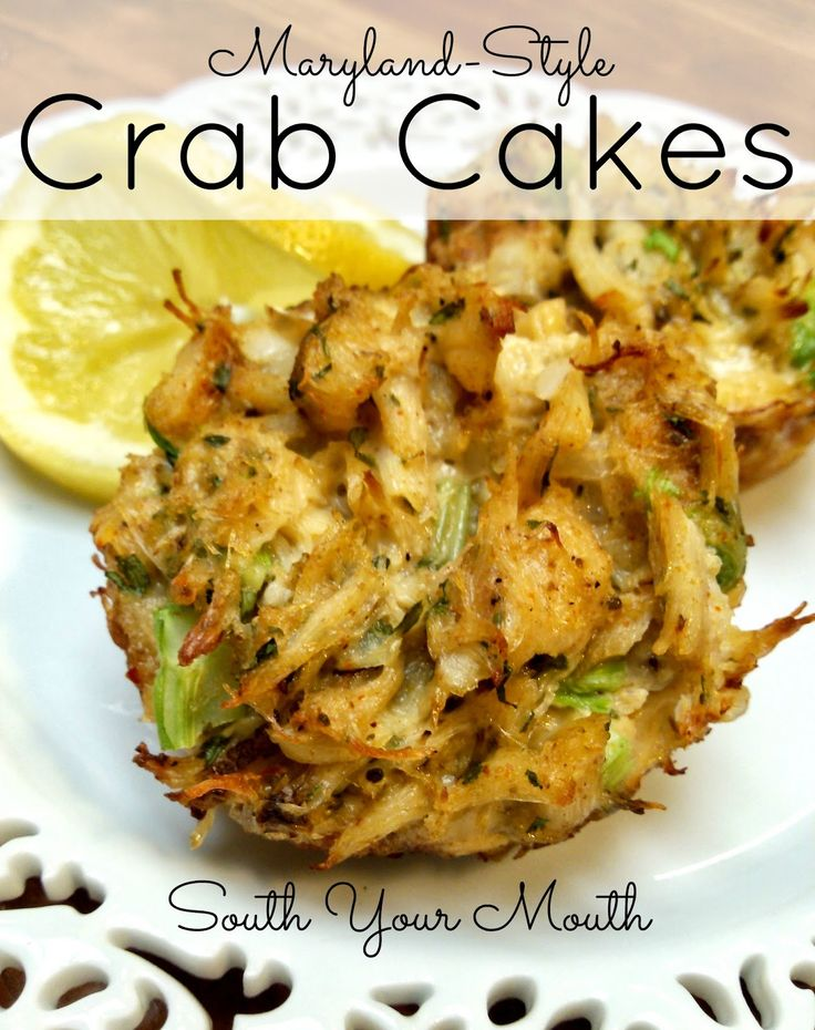 Grandma's Maryland-Style Crab Cakes! You can bake these in a muffin tin or fry them - either way is GREAT!