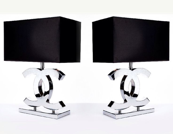 Chanel Lamps Chanel Table Lamps Www Luxelots Co Uk