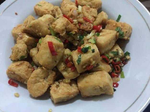 Resep Tahu Cabe Garam Endeus Oleh Chef Mu In Resep Resep Tahu Memasak Makanan