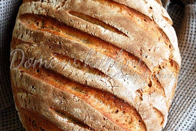 Chleb na zakwasie – codzienny | Domi w kuchni