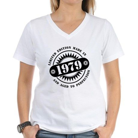 LIMITED EDITION MADE IN 1979 T-Shirt #madein #limitededition #birthday #bday #year #age