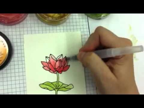 Painting with Inka Gold - YouTube I want these paints.