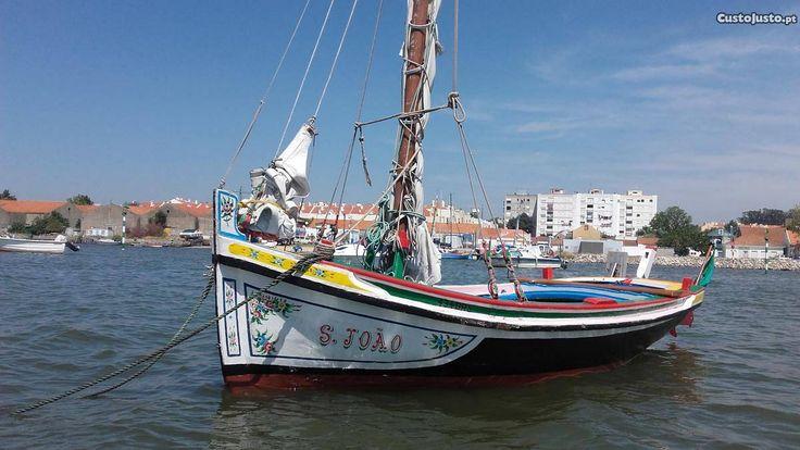 catraio barco típico do tejo - à venda - Barcos, Setúbal - CustoJusto.pt