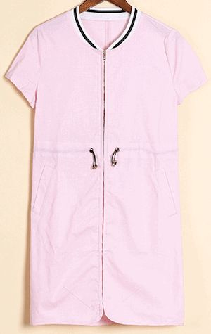 Linen spring/ summer dress in the latest shade of rose quartz  #women #dress #hot #fashion #spring #trending #designer
