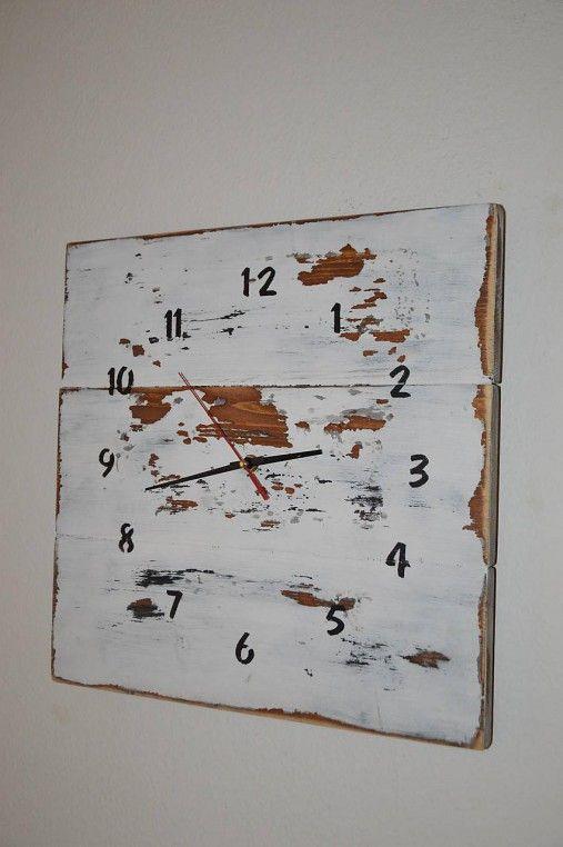 PalletWood / Drevené hodiny Vintage